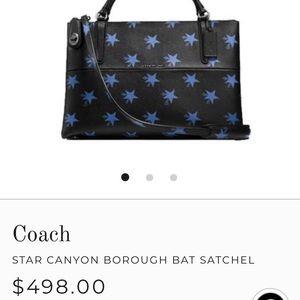 Coach Star Canyon Satchel
